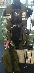 Current British Army Complete Parachute Harness Rig Pack Airborne Para / SAS