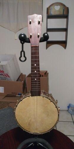 Vintage Banjo ukulele 20s 30s Waverly tp