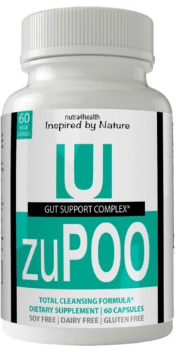 Zupoo Colon Cleanse Detox Pills Max Dietary Supplement 100% Natural