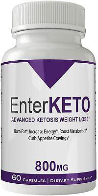 Enter Keto Pills Advanced Weight Loss Supplement | Enter Keto Diet Pill Weigh...