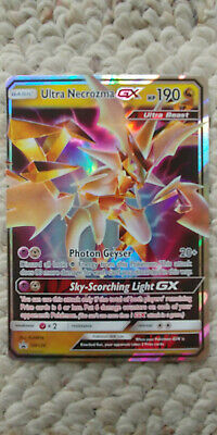 Pokemon TCG Ultra Necrozma GX SM126 Promo from Dragon Majesty Collection Box