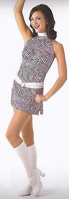 PEPPERMINT TWIST Jazz Tap60s GoGo Dance Dress Costume  Adult S A, - Gogo Outfit