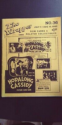 The Wrapper magazine #36, July 1, 1983.  HOPALONG CASSIDY, SCOOPS