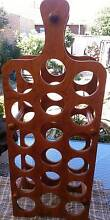 WINE RACK LARGE-TIMBER Dingley Village Kingston Area Preview