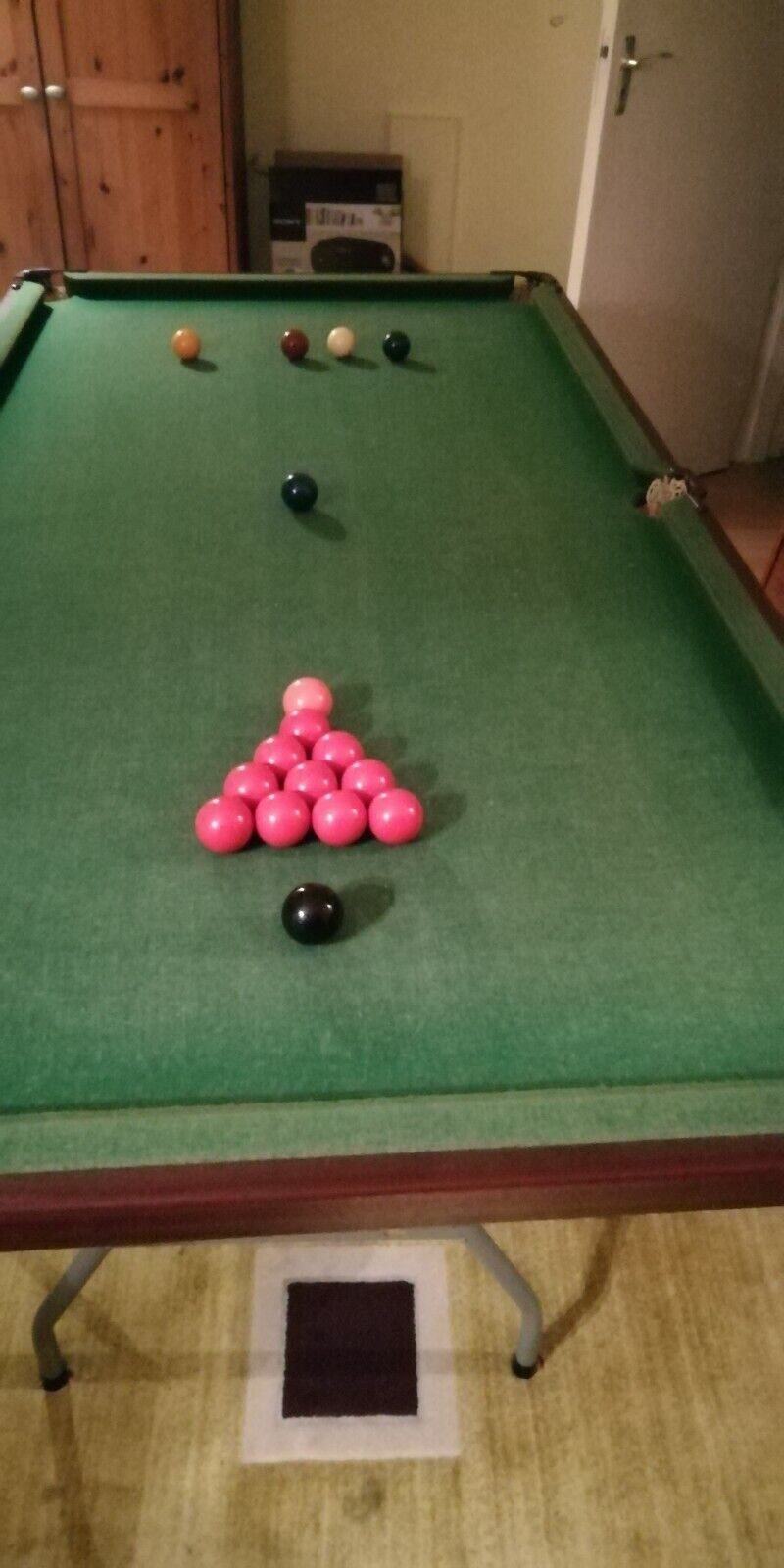 Snooker Table - Table Top - 6ft by 3ft - Play-Day Ltd Chelwood