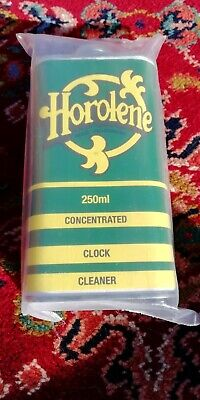 250ml Can Horolene Ammoniated Concentrated Clock Cleaning Solution fluid NEW!