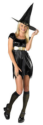 Cute Witch Halloween Costumes (B. Witched Witch Black Cute Sexy Dress Up Halloween Teen Child)