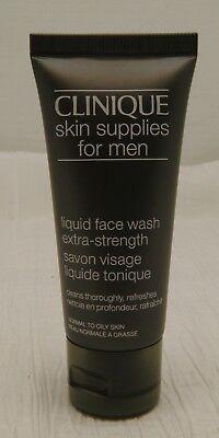 Men Liquid Face Wash - CLINIQUE SKIN SUPPLIES FOR MEN LIQUID FACE WASH EXTRA-STRENGTH 40mL