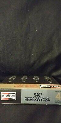 CHAMPION RER8ZWYCB4 (9407) Iridium Spark Plug (Pack of 4)