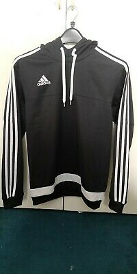 Adidas Black/White Sports Hoody - Small. Used- Good
