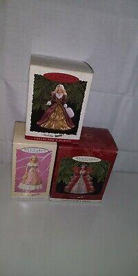 Hallmark Keepsake Barbie Ornaments lot of3