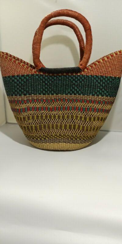 Large U-Shopper  BOLGA Market Basket