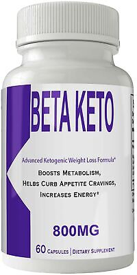 Beta Keto BHB Pills Weight Loss Supplement, Appetite Suppressant with Ultra A...