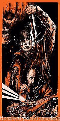 1981 HALLOWEEN II John Carpenter LTD ED Screen Print SLASHER Movie Poster - Halloween Ii Movie 1981