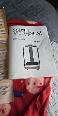 Vibro machine only used few months done what i needed it to do.