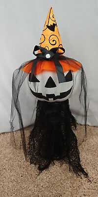 Halloween Witch Faces Pumpkins (Halloween Witch Pumpkin Face Hat Decorations)