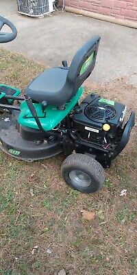 Weed eater riding mower 26 inch made to be able to fit threw normal fence gates