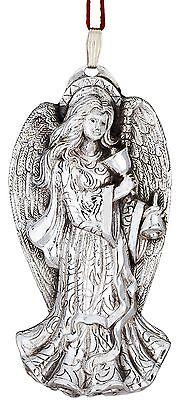 2012 Reed Barton Pure Silver 10th Annual Angel Lydia Xmas Ornament Pendant