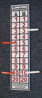 Cornhole  Scoreboard,  Fast FREE SHIP, .Hundreds Sold, GREAT SCOREKEEPER
