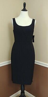 Sleeveless Black Sheath Dress 8 Contour Pencil by Ivy & Blu MSRP $95 Modcloth