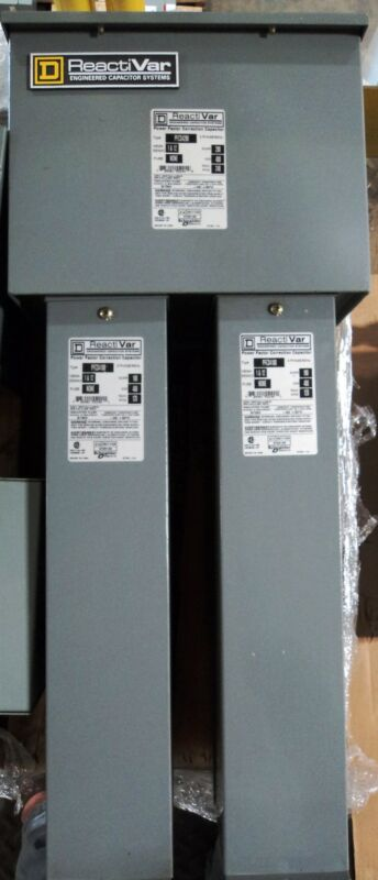 PFCD4200 w/ 2 PFCD4100 - Square D ReactiVar Capacitor System