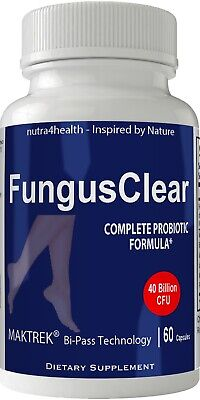 Fungus Clear Probiotics Pills Tablets Fungi Clear Nails Plus - for Healthy Nails