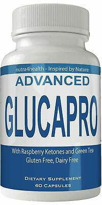Advanced Glucapro Diet Pills Supplement for Weight Loss Burn Capsules Extra S...