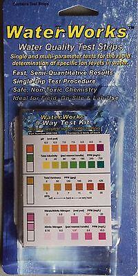 فلتر مياه جديد Water Works 9 Way Test Kit 2 of Each Test  WW-18K Well Tap Drinking City
