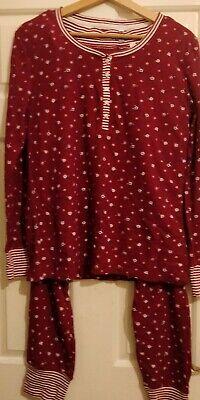 Lovely ladies Jane And Bleecker multi fashion pyjamas set size M