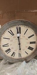 Howard Miller 625-626 (625626) Nesto Wall Clock Oversized Round 30.75 (NEW)