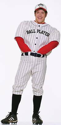 FORUM PROFESSIONAL BALL PLAYER BASEBALL ADULT HALLOWEEN COSTUME STANDARD 62201 - Professional Halloween Costumes