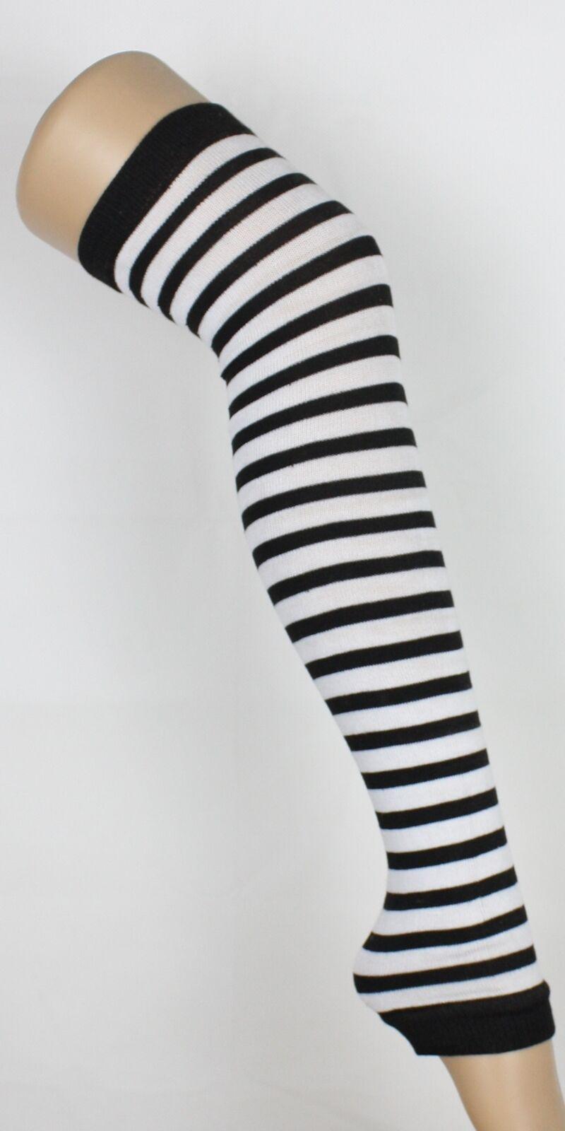 NEU Trend Stulpen Strumpf Muster Kurz Lang Bein Legwarmer Beinstulpen
