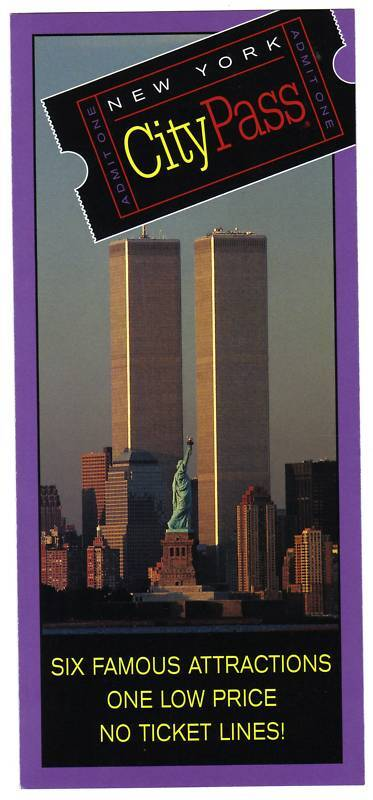 WORLD TRADE CENTER CITY PASS BROCHURE RARE & MINT - Fairly Priced - Collectible