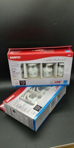 SDNS6235 - Satco T2 13-watt Fluorescent Spiral Bulb