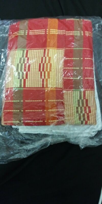 African kente cloth. 2 Yards- Female.