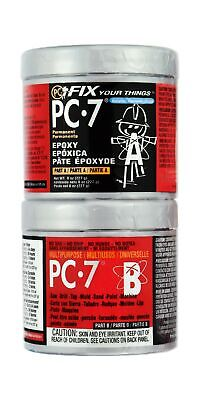 Pc-7 Epoxy Adhesive Paste Two-part Heavy Duty 12lb Charcoal Gray 87770