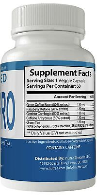 Advanced Glucapro Diet Pills Supplement for Weight Loss Burn Capsules Extra S... 1