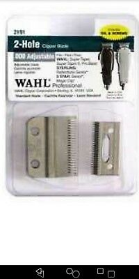 Wahl 2-Hole Clipper Blade for Super Taper /Icon /Magic 2191 ()