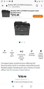 Printer all in one scanner