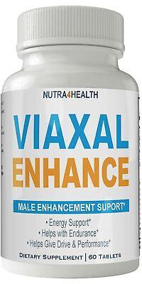Viaxal Enhance Male Pills Max Advanced 745MG Formula (1 Bottle) Male Enhancem...