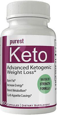 Purest Keto Diet Pills Advanced Weight Loss Supplement - Purest Keto Weight L...