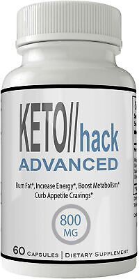 Keto Hack Advanced Capsules Weight Loss Pills Supplement, Appetite Suppressan...