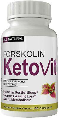 Ketovit Forskolin for Weight Loss Supplement Pills Ultra For