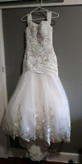 Gorgeous ivory wedding dress