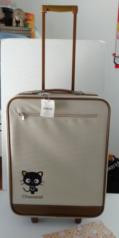 Sanrio 2001 Chococat Rolling Travel Luggage Suitcase NEW