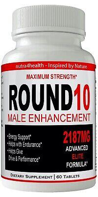 Round 10 Male Enhancement Supplement Advanced Enhancing Pills for Men