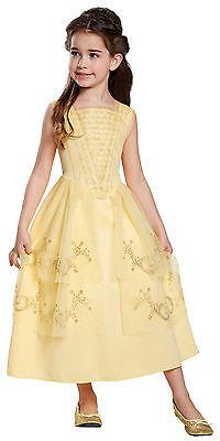 Mädchen Disney Prinzessin Beauty & Biest Belle Ballkleid Kostüm DG20733 ()