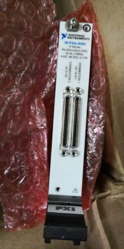 National Instruments,NI PXIe 6363 DAQ Data Acquisition,32 Analog Inputs Card