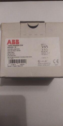 ABB 1SAM150000R1006 MS325-1.6 Manual Motor Starter