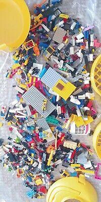 USED Lego Bulk  1.9KG  with Lego Storage box